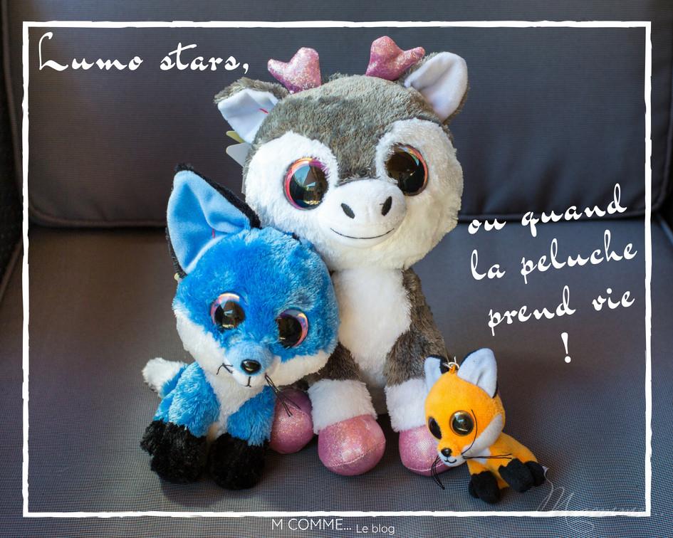 peluche Lumo stars