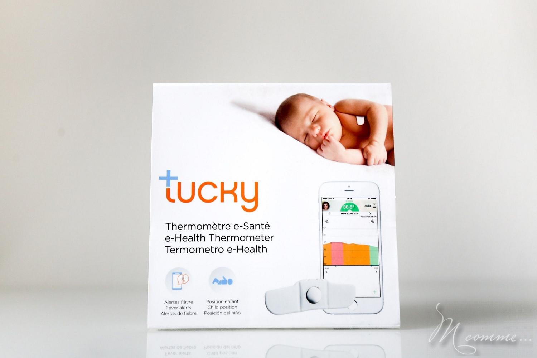 Tucky, un thermomètre connecté pour des nuits sereines qui assure un suivi régulier de la température de bébé et vous alerte si bébé se retourne grâce à son moniteur de position.
