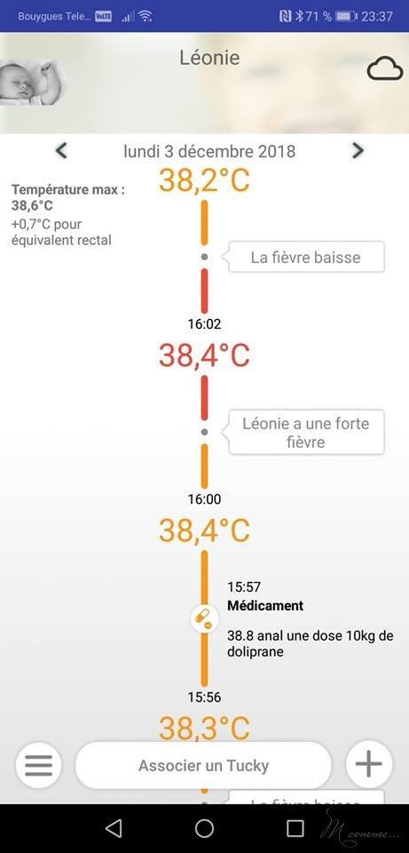 thermomètre connecté