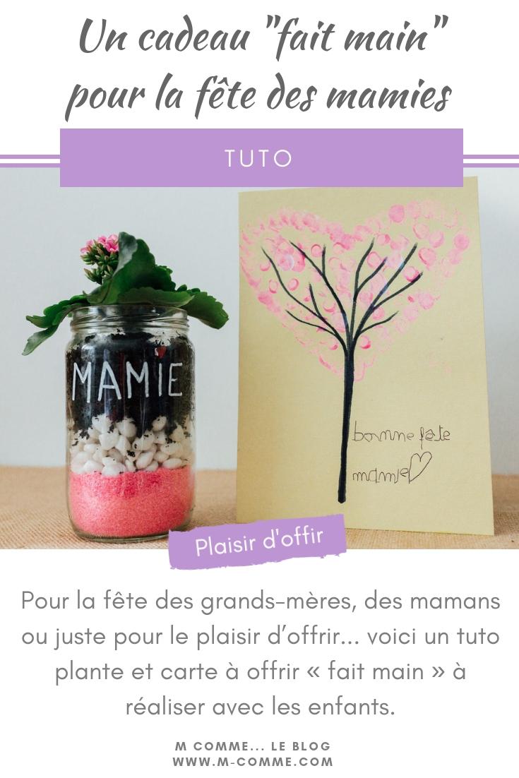 cadeau fête grand-mère maman