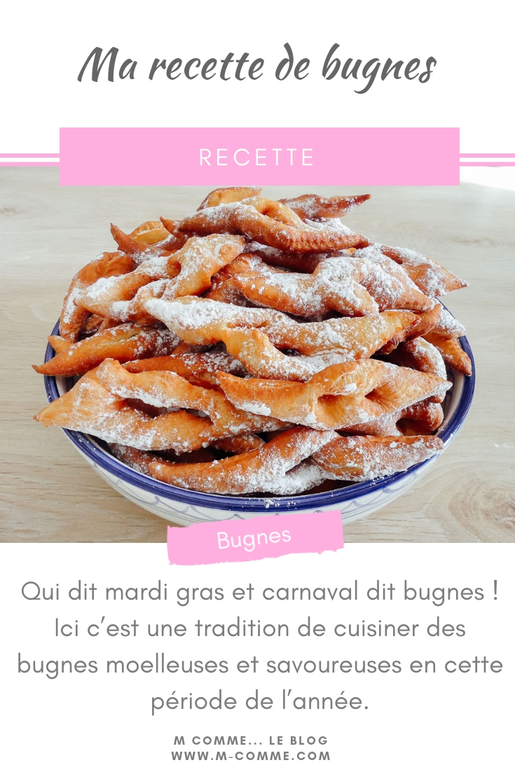 recette bugnes carnaval