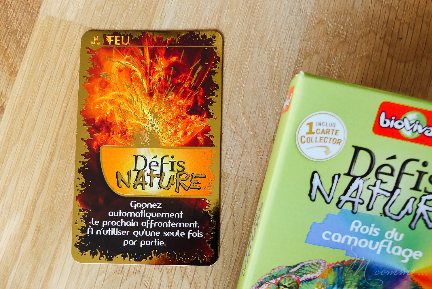 carte collector jeu défis nature bioviva