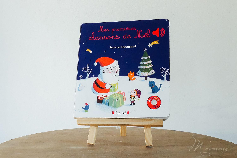 livre sonore gründ Noël