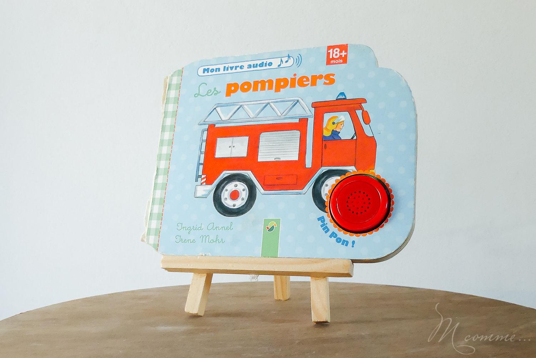 livre audio pompiers