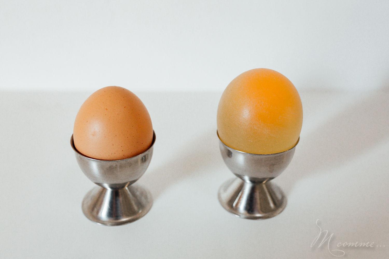 œuf qui rebondit