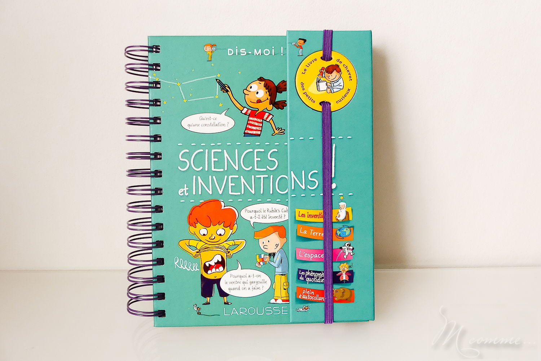 Livre sciences et inventions éditions Larousse