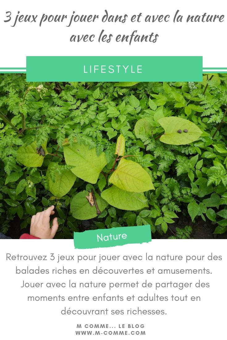 jeu dans la nature