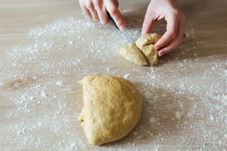 recette brioche sans beurre Pâques