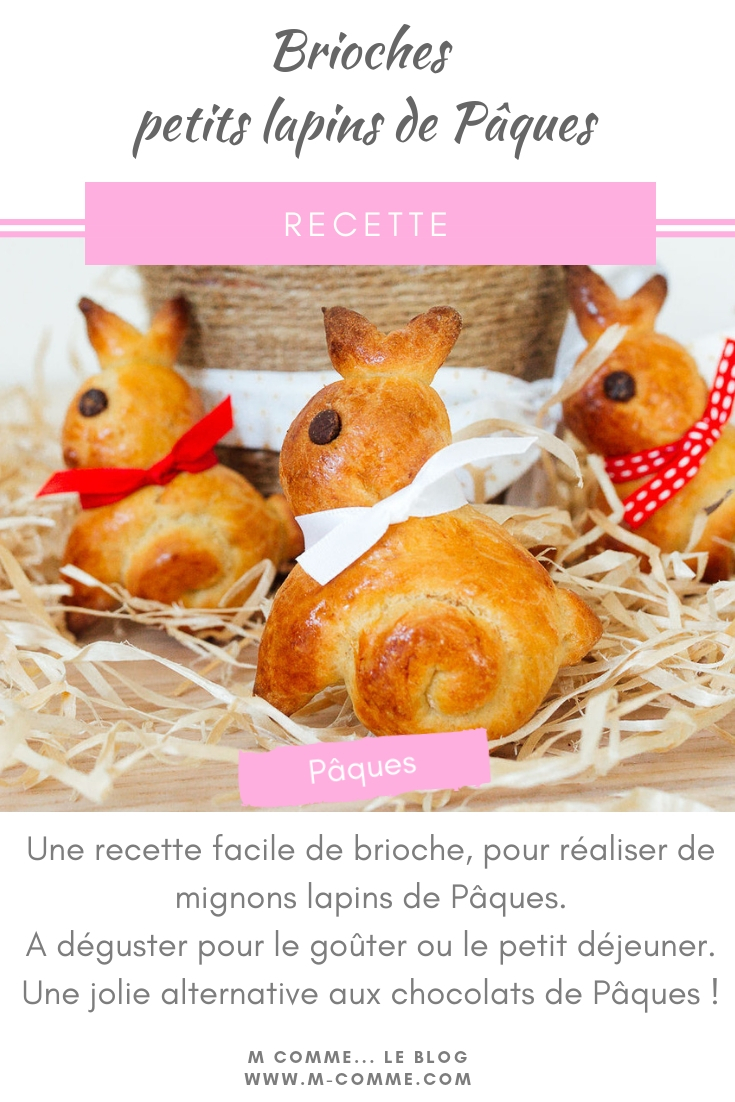 brioche de pâques lapin