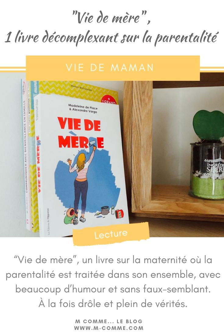 livre vie de mère
