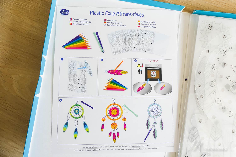 kit attrape reves plastique fou