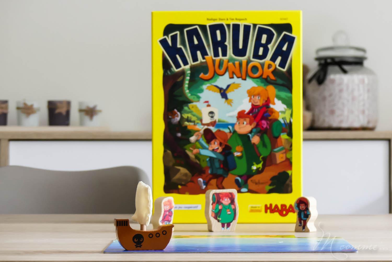 Karuba junior est un jeu stratégique et collaboratif pour les enfants dès 4 ans. Partez à l'aventure, et tentez de trouver les trésors avant l'arrivée des pirates ! #jeu #jeudesociete #jeucollaboratif #jeustrategique #jeuenfants #haba #karuba #karubajunior #jouerenfamille