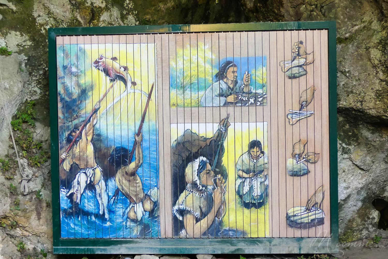 Les Grottes du Cerdon proposent, après la visite d'un monde souterrain insolite, de découvrir comment vivaient les hommes préhistoriques à travers de nombreuses activités pour les enfants. Une belle sortie en famille, dans l'Ain, nichée dans les montagnes du Jura. #grottesducerdon #prehistoire #hommesprehistoriques #activitesprehistoriques #animationsenfants #ain #jura #lyon #peinturesprehistoriques #poterie #feu #fairedufeu #apprendreafairedufeu #fouillesarcheologiques #sortieenfamille