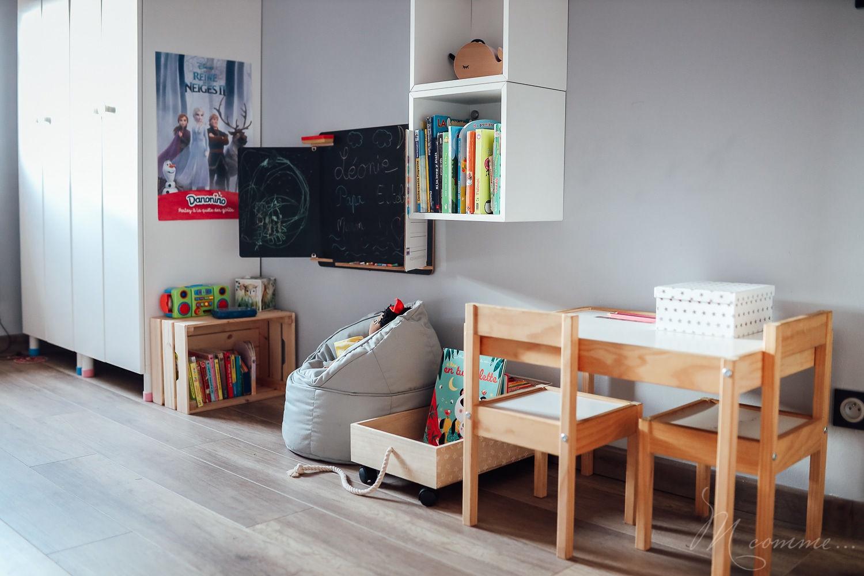 chambre montessori bureau
