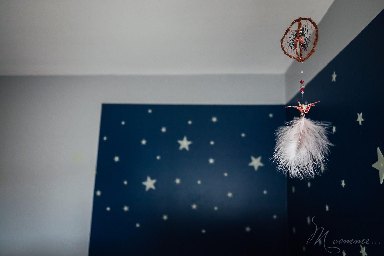 décoration chambre montessori attrape rêves