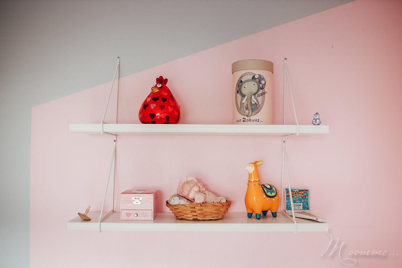 décoration chambre montessori étagère