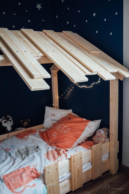 lit cabane montessori en bois