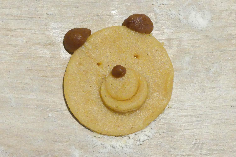 recette biscuits sablés oursons