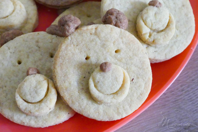 biscuits sablés oursons recette enfant
