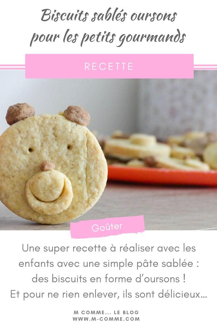 biscuits sablés oursons
